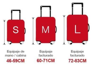Maletas de viaje, desde 50cm, Medidas Maletanet.Com