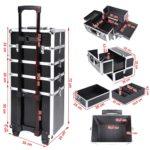 Medidas de maleta profesional maquillaje