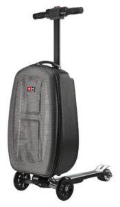 Patinete electrico con maleta